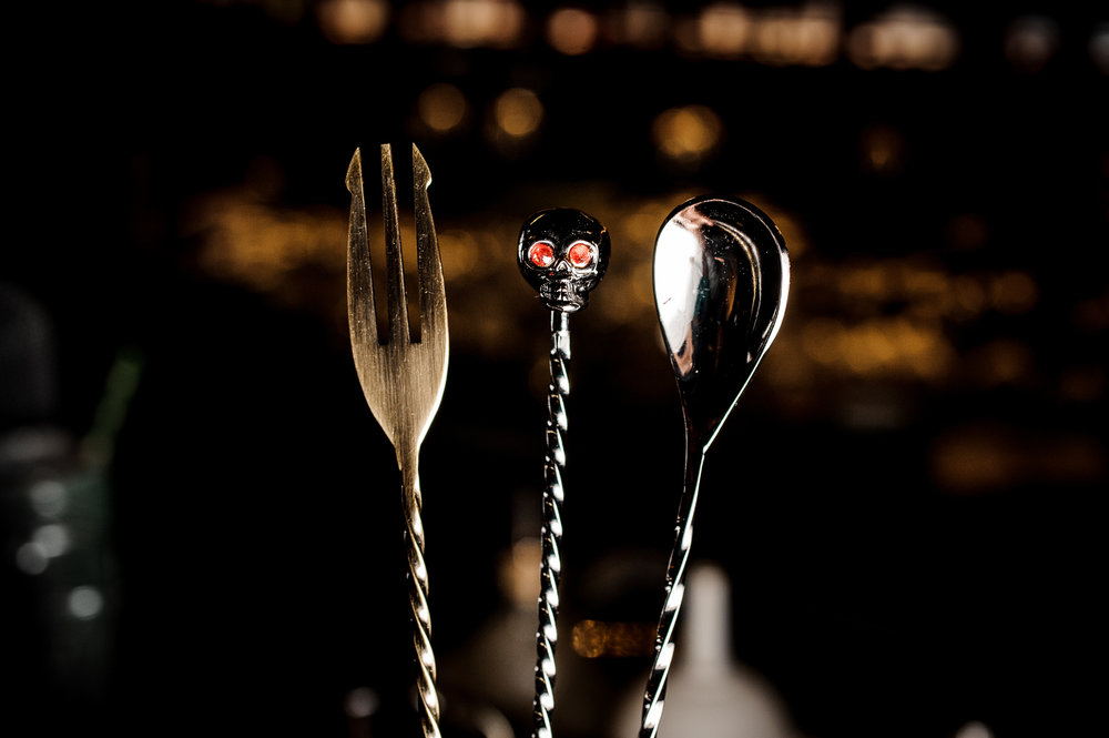 Luxury Bar Spoons made from Japanese Steel - Bar spoons – our speciality, who would have thought a little spoon can cause so much fuss but apparently bartenders and discerning mixologist just have to have the right shape.