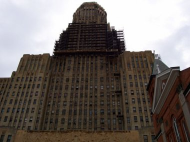 Buffalo City Hall - Window Caulk Abatement