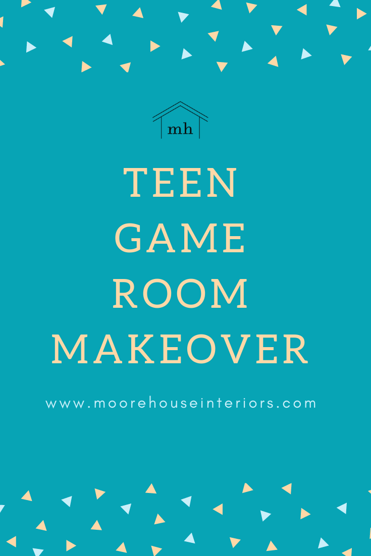 Teen Game Room Design Moore House Interiors