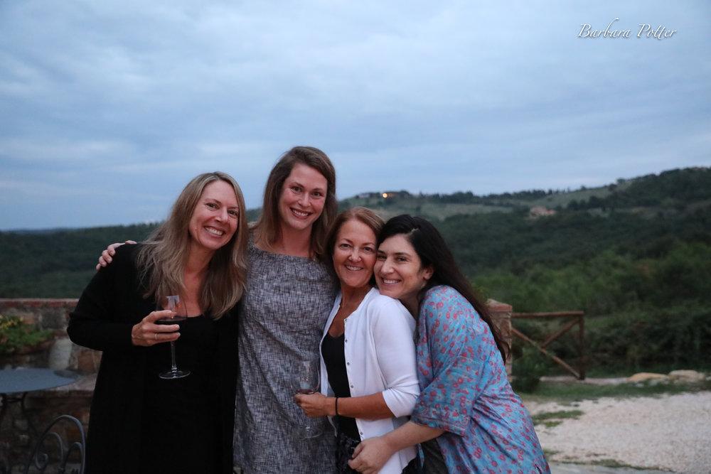 3 women wine & Jen  TuscanyJen (1 of 1).jpg