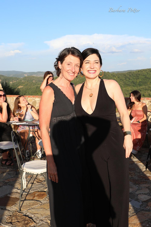 Jen & Ceri the yoga teacher Tuscany .jpg