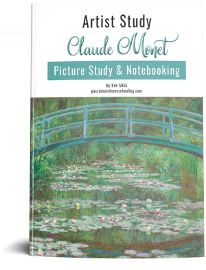 Claude Monet Picture Study & Notebooking