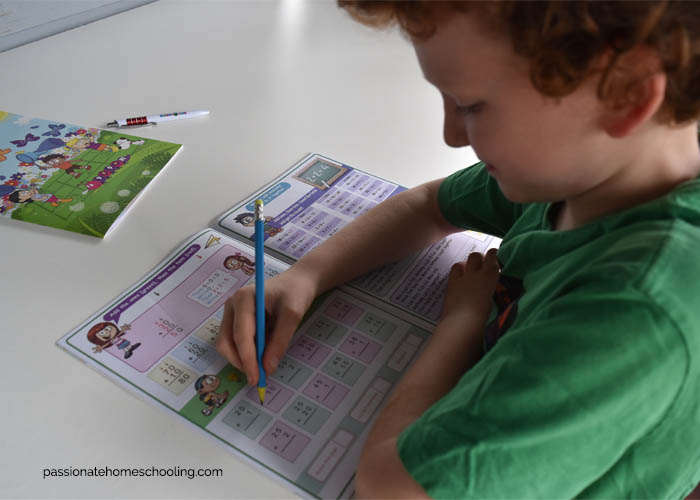 Fun and Colorful Math Workbooks