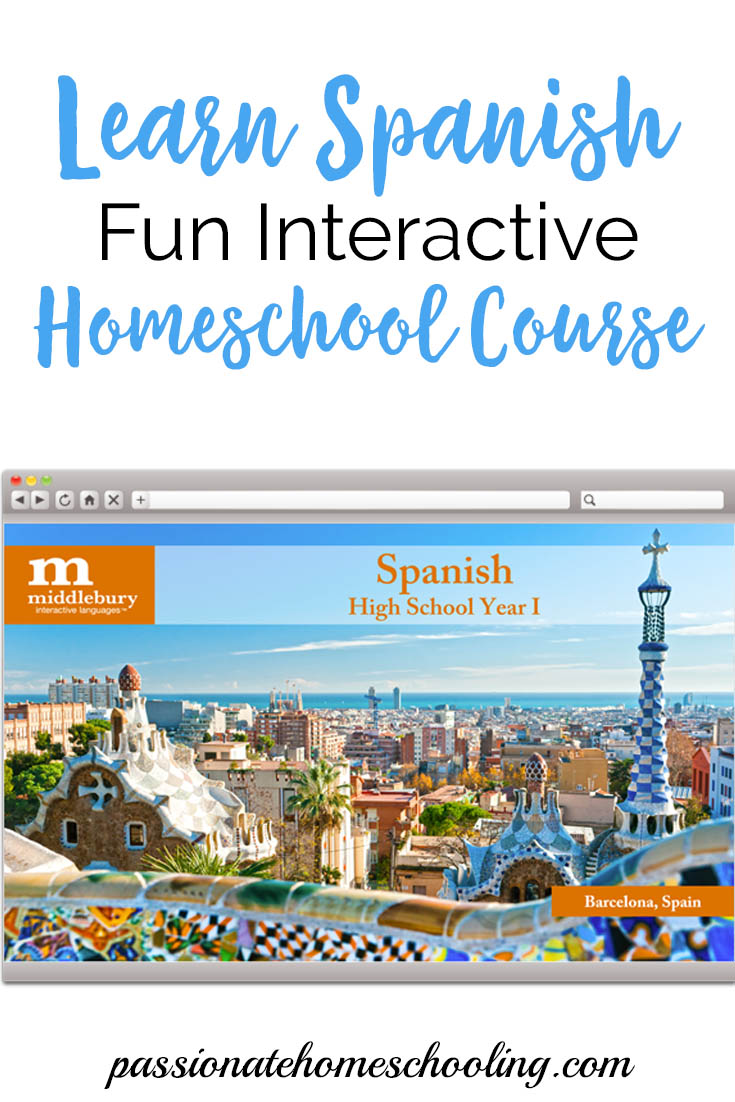 Learn Spanish online with this fun interactive course. Great for homeschooling or adults who would like to learn Spanish at their own pace.   www.passionatehomeschooling.com