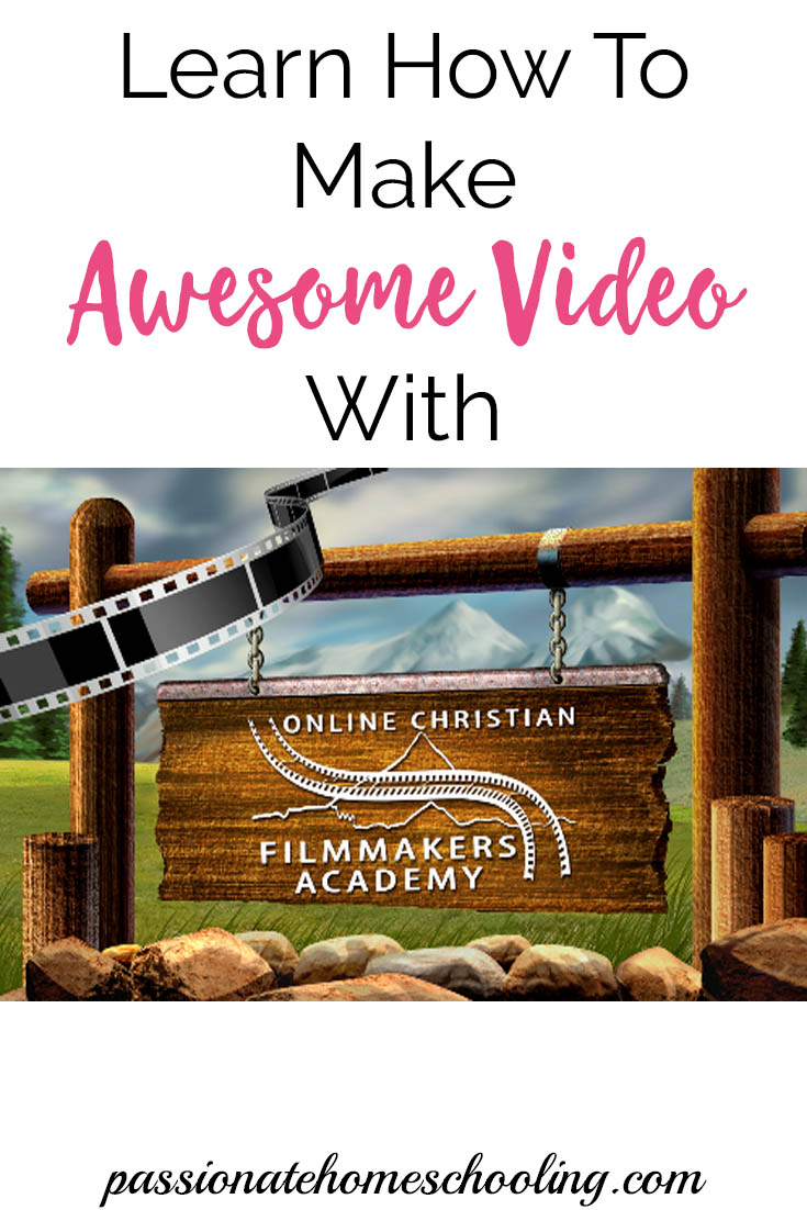 Learn how to make amazing videos with this online filmmaking course. Great for homeschoolers, hobbyists and YouTube too! | www.passionatehomeschooling.com