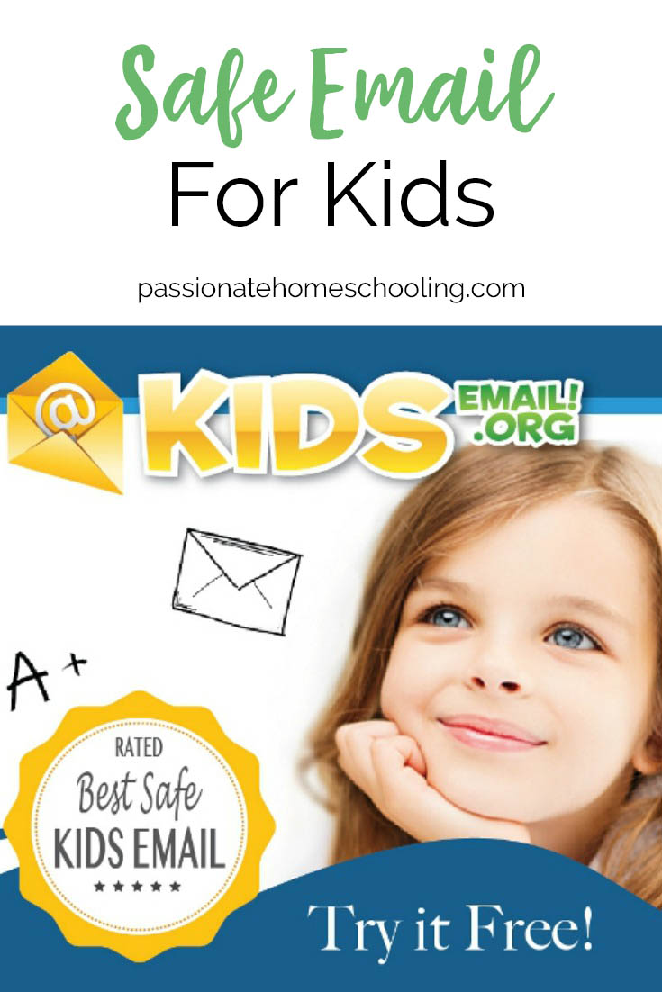 I love this safe email provider for kids! We've been using it for 2 years now and I love knowing my kids have a safe and fun email. Keep your child safe online with this easy to use email program for kids. It's so easy to set up and lets you set your parent controls up as tight or relaxed as you want.