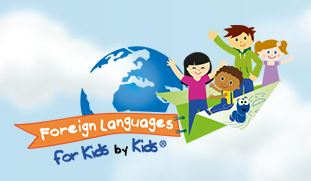 Foreign Languages For Kids By Kids Logo