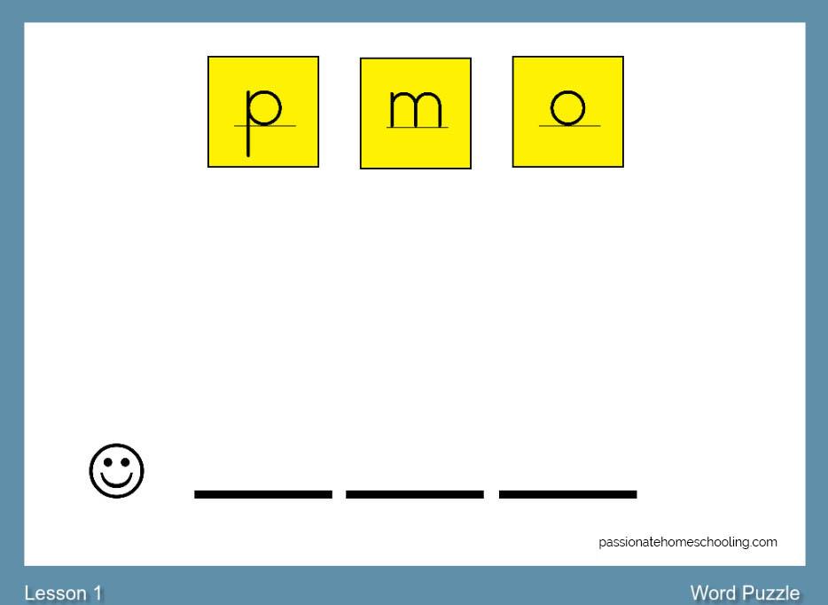 Phonics Lesson abecedarian