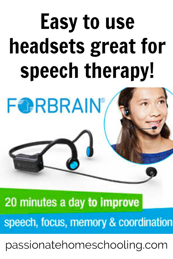Speech therapy headphones. Improve your speech with Forbrain bone conducting headphones. Hear yourself in a whole new way!