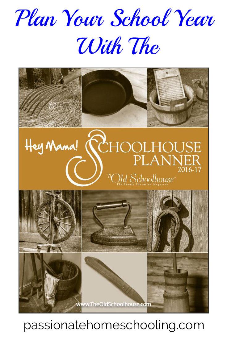 Hey mama schoolhouse planner