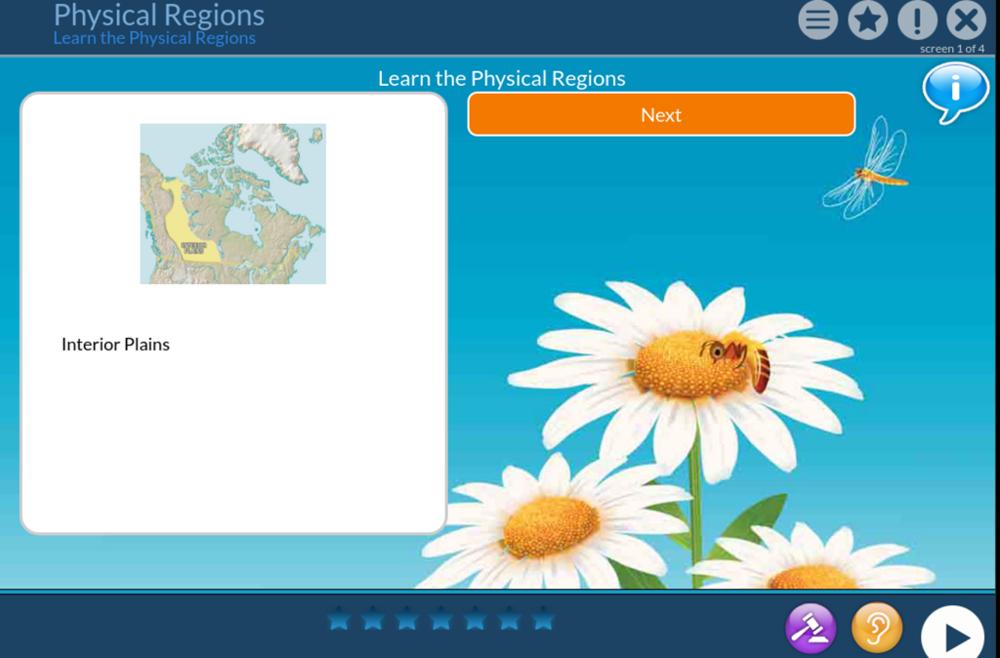 Canada physical regions