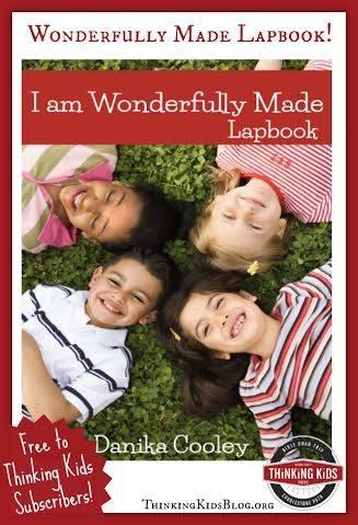 I am Wonderfully Made Lapbook