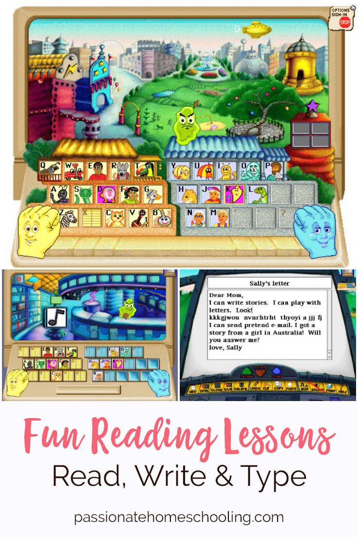 Online Phonics Curriculum. Read, Write & Type is an AMAZING easy to use online program to teach children to read. Our children have been loving this phonics program. It also teaches them how to spell and type at the same time. An excellent program for children who are right brained learners, dyslexic or ESL.