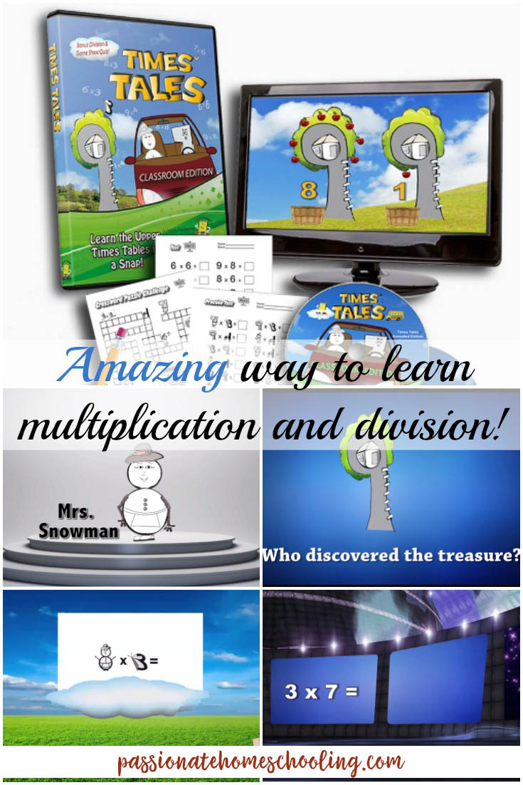 Fun multiplication memorization times tables. Some of my children really struggle to memorize their multiplication facts. I've found an amazing and easy solution! Times Tales uses simple stories and visuals to help children memorize their math facts. It really works!! What a wonderful resource this has been to my right brain and dyslexic children.