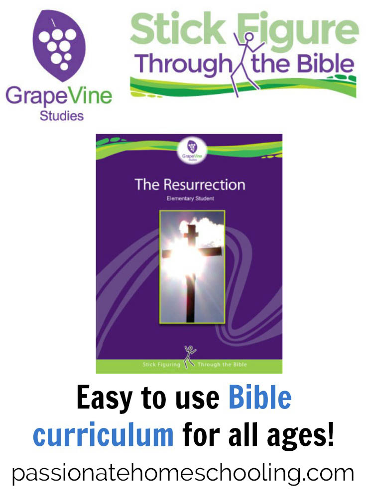 Hands On Bible Study For Kids. The Resurrection Bible study from Grapevine Studies is an amazing, easy to use children's Bible study curriculum! I love that it's just open and go, no prep work needed for me. Best of all my children love it!