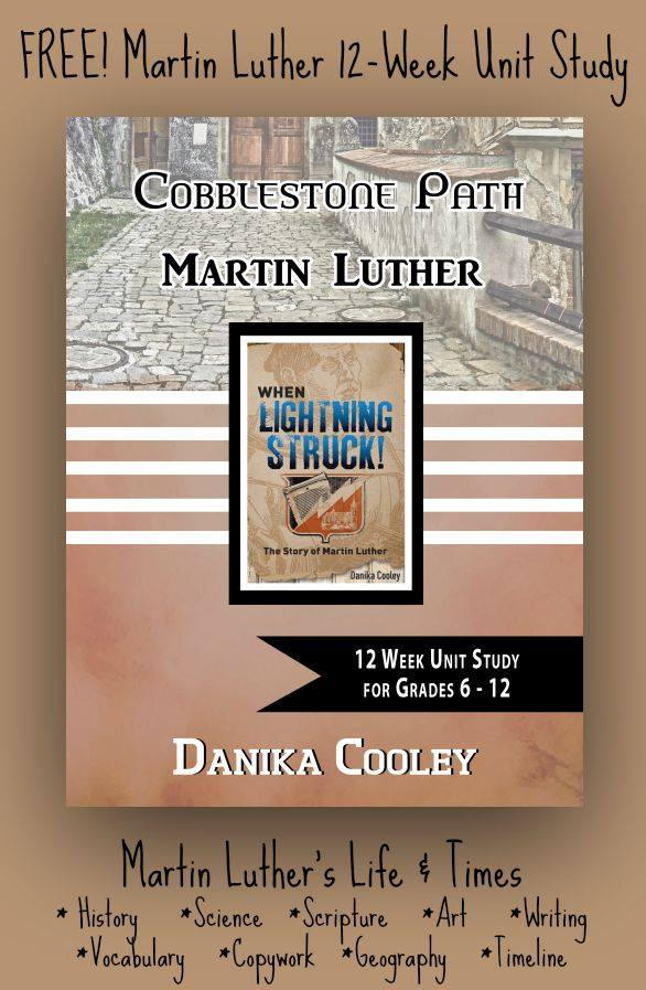 Free Martin Luther Unit Study