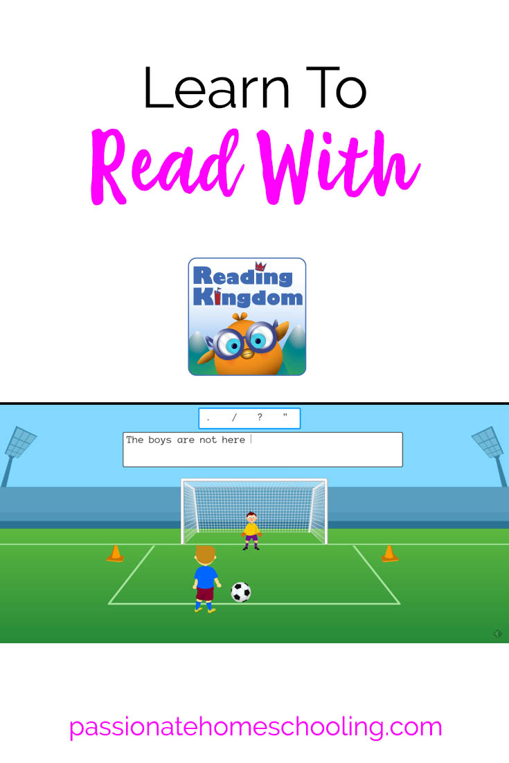 Learn to read with Reading Kingdom