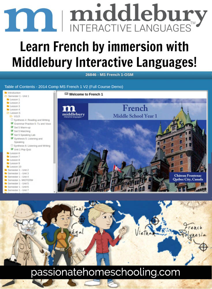 Online French Lessons. Learn French by immersion with Middlebury Interactive Languages!