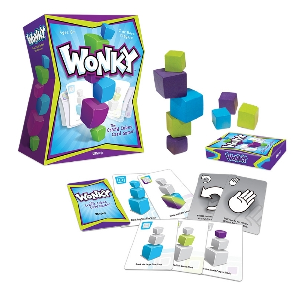 Wonky family game