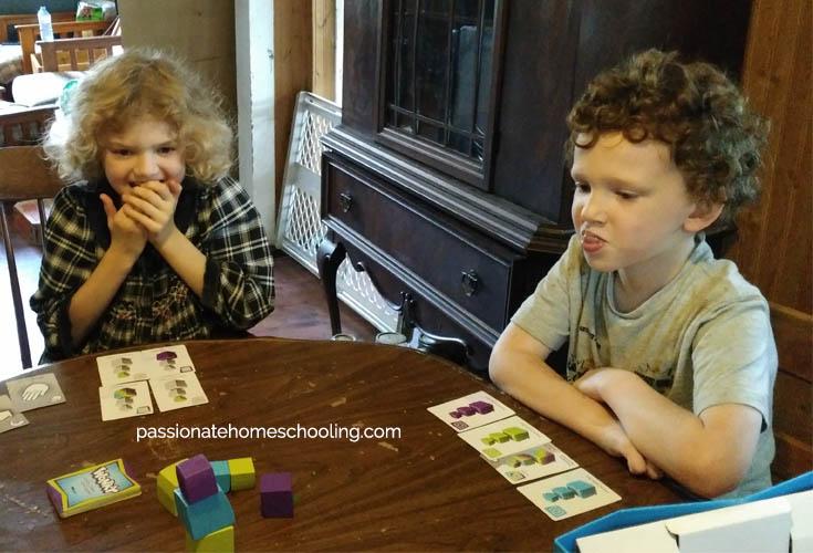 Playing Wonky Family Game