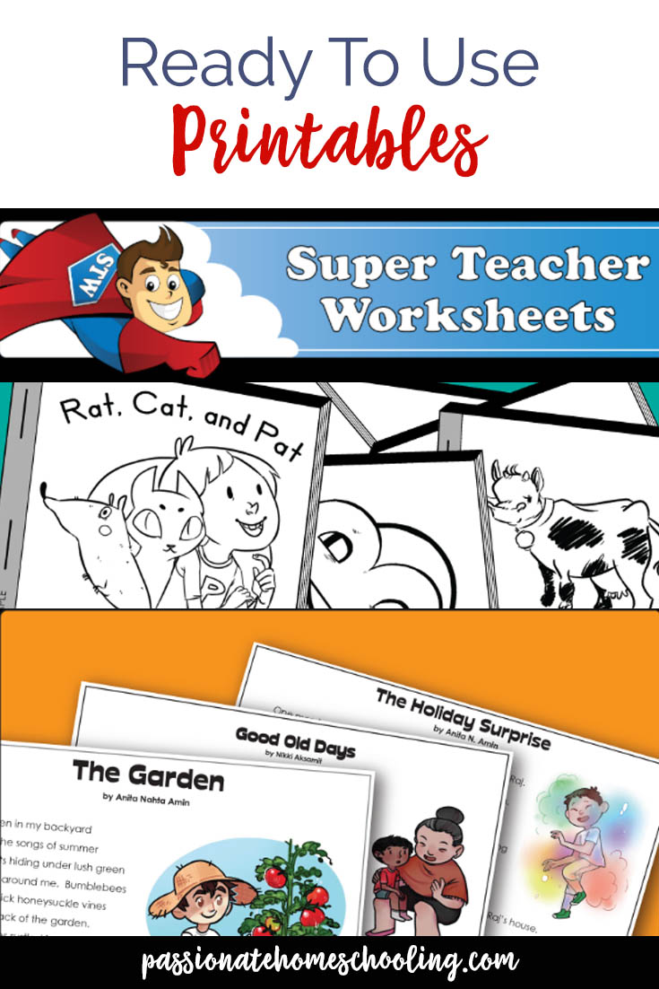 Huge selection of printable worksheets for teachers and homeschoolers. Super Teacher Worksheets.