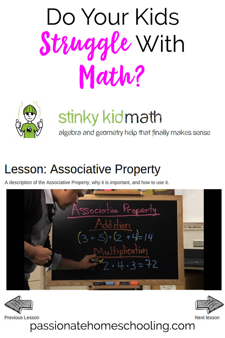 Help Kids Learn Algebra with Stinky Kid Math