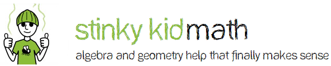 Stinky Kid Math Logo