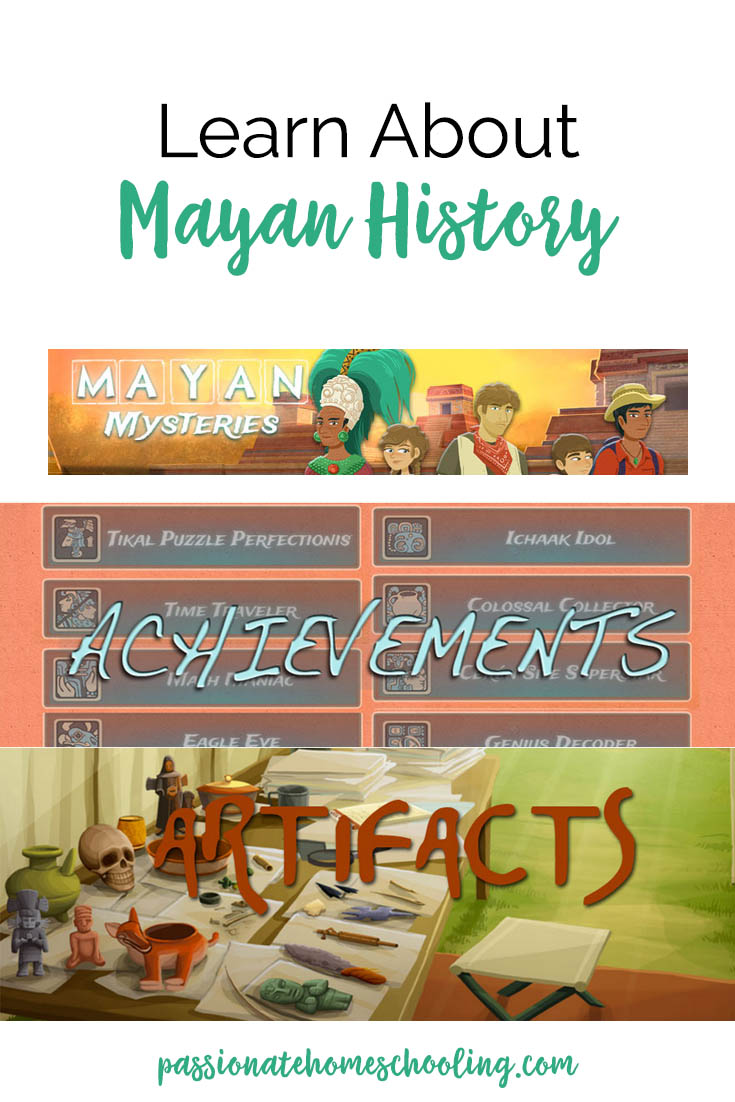 Learn Mayan History with Mayan Mysteries educational game.