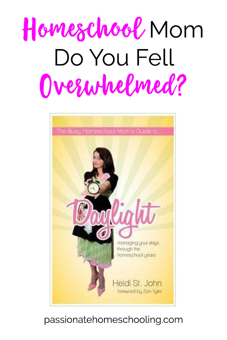 Are you feeling overwhelmed homeschooling? Get your life back on track.