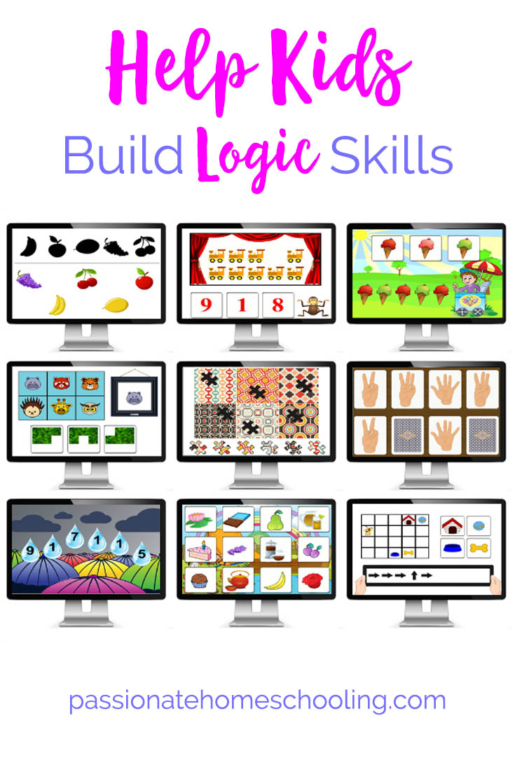 Logic Puzzles For Kids. Do you want to help your children build logic thinking skills? Kids will love playing these logic puzzles!