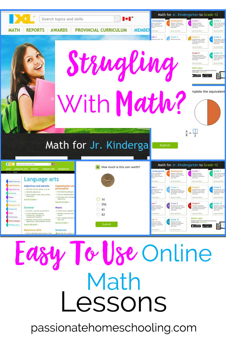 Make Teaching Math Easy! Easy To Use Online Math Curriculum.