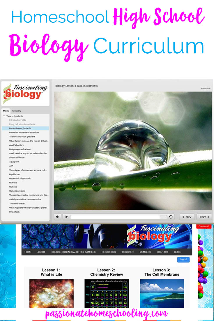 Don't worry about teaching high school biology! This online science curriculum is so easy to use. Interactive video lessons help kids really understand the lessons.