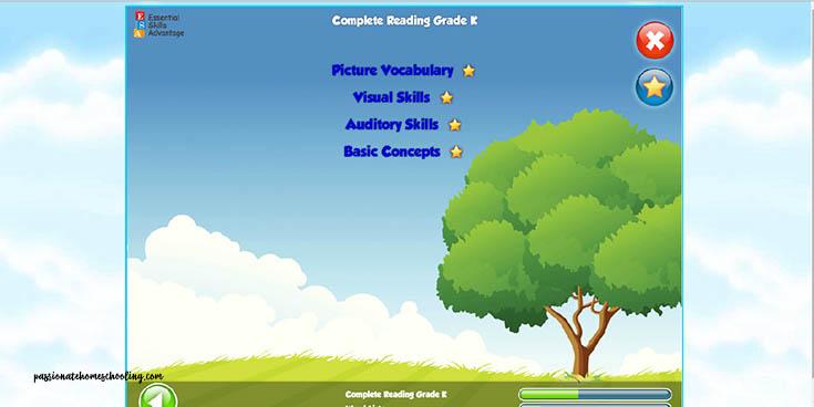 Early Reading Skills Kindergarten