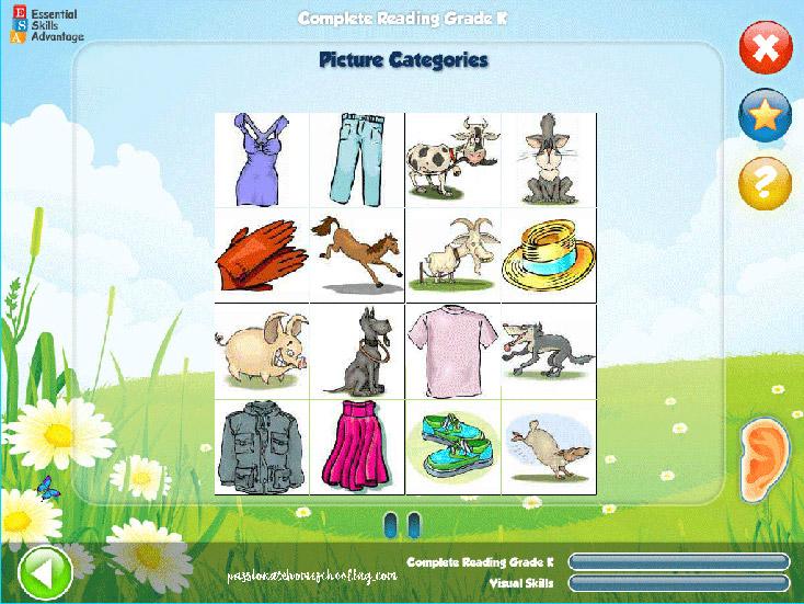 Picture Games Kindergarten