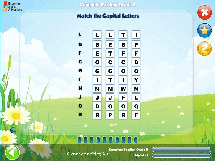 Letter Matching Kindergarten
