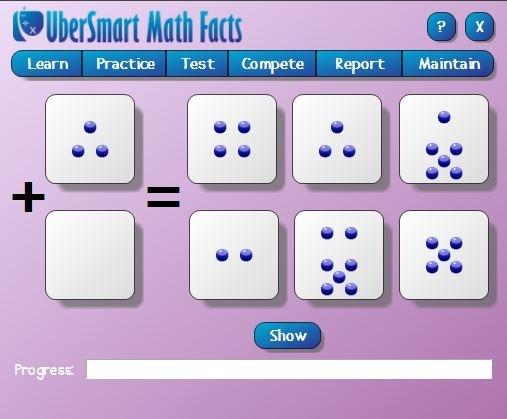 Math Dot Cards