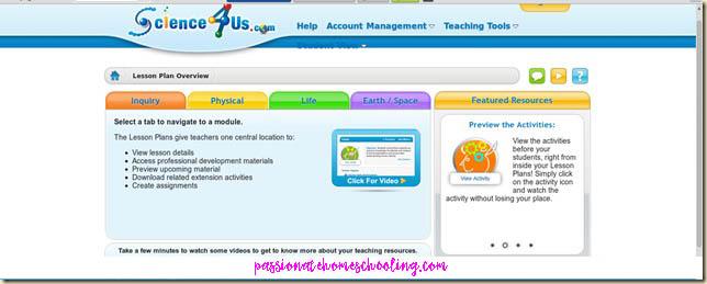 Online Science For Homeschool