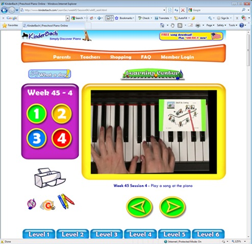 Piano Lessons For Young Children