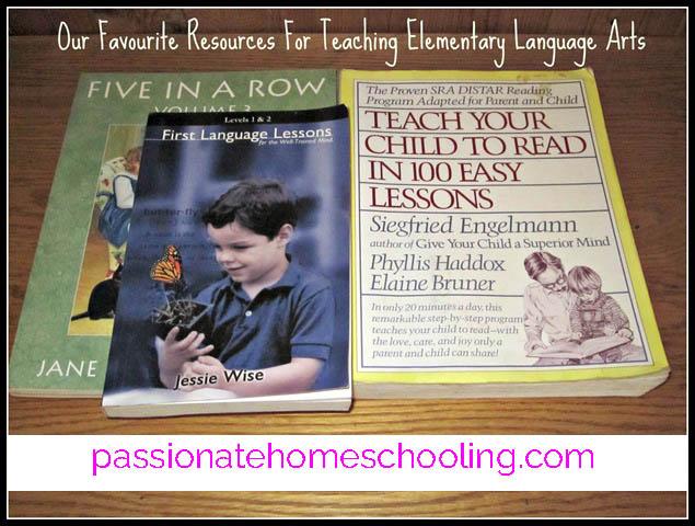 Favourite Language Arts Resources