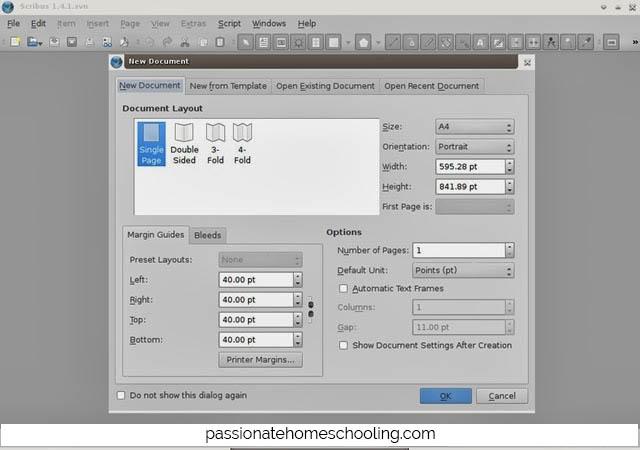 Scribus Design Software