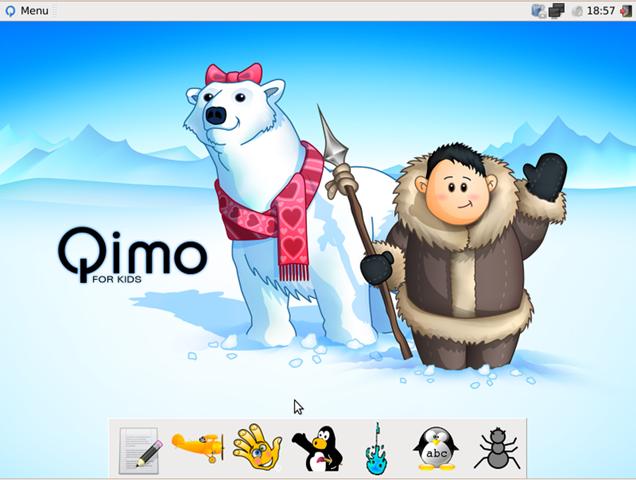 Qimo Linux For Kids