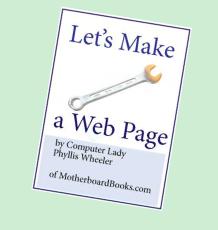 Lets Make A Web Page