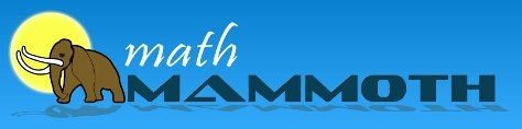 Math Mammoth Logo