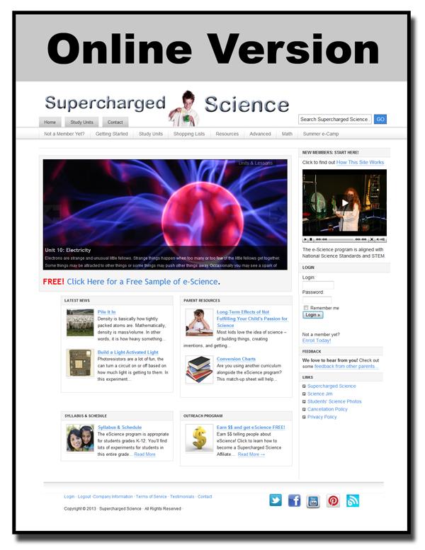 Online Science Course Homeschool