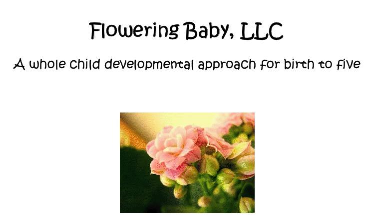 Flowering Baby Books