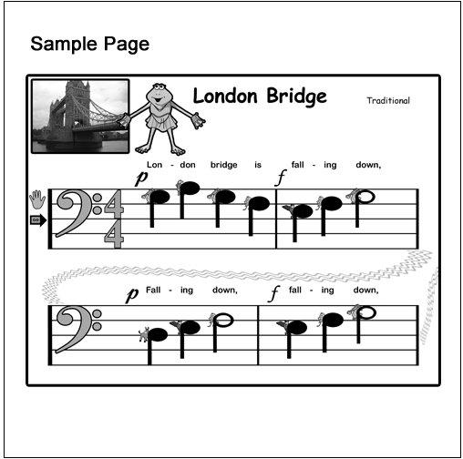 Piano Sheet Music London Bridge