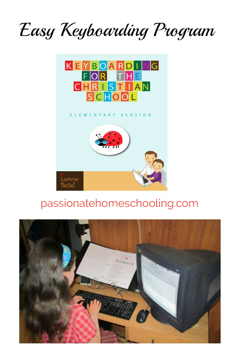 Keyboarding For The Christian School is an easy to use program to teach children how to type and format writing.