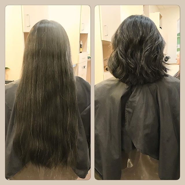 Welcome Miss Rachel to the Verde Team! Wow, first day, first cut and this is the transformation requested! I love the movement in her layers and the perfect length... great job! #welcometotheteam #verdegirls #teamverde #verdesalon #verdesalonspa #organicbeauty #greenbeauty