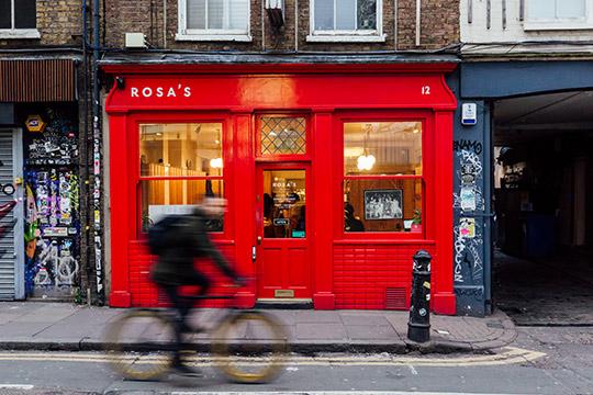 © James Byrne / Rosa's Thai Cafe
