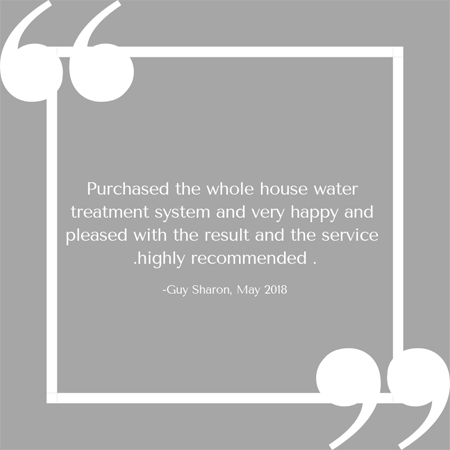 Purchased the whole house water treatment system and very happy and pleased with the result and the service .highly recommended ..png